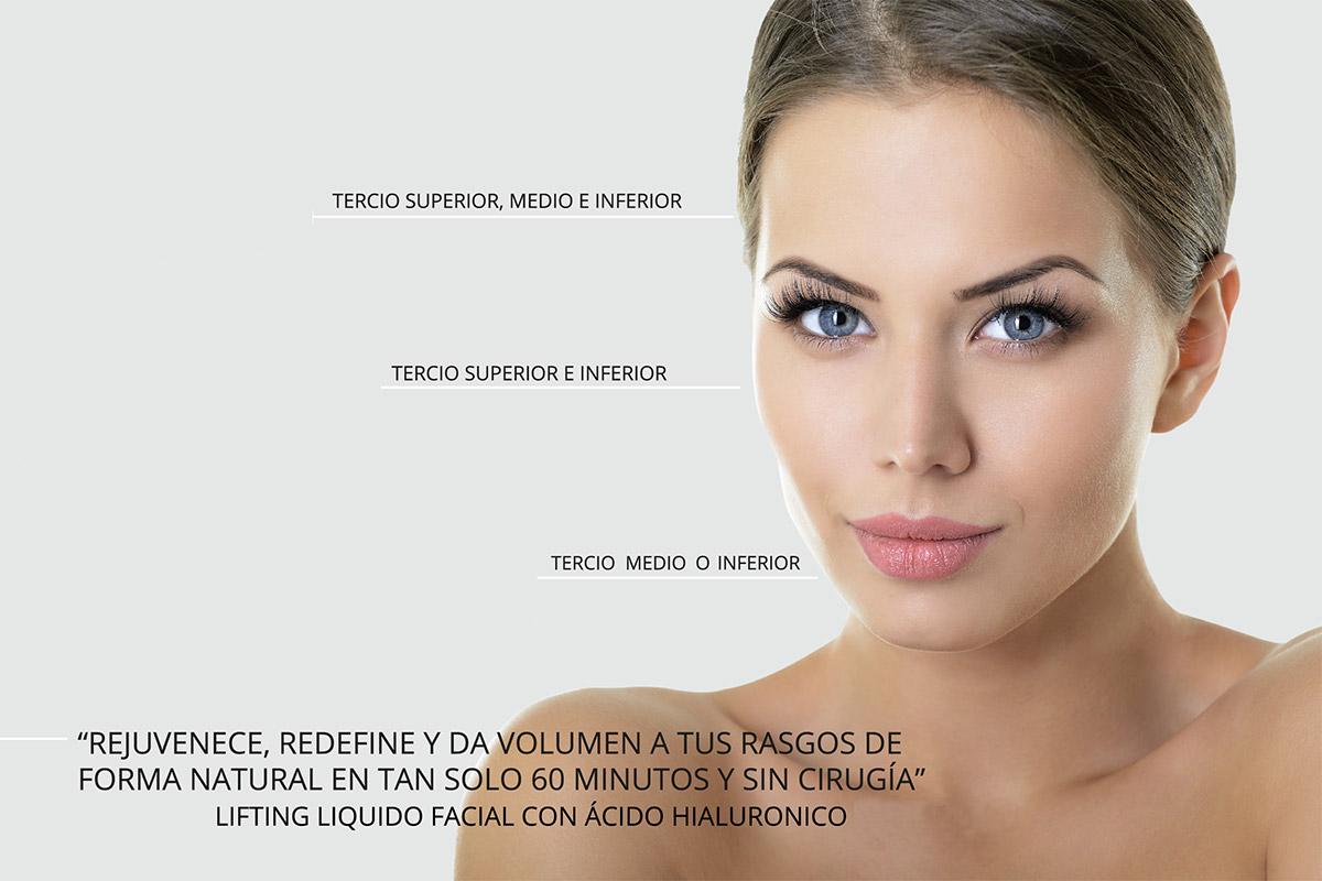 Lifting Líquido Facial Con ácido Hialurónico